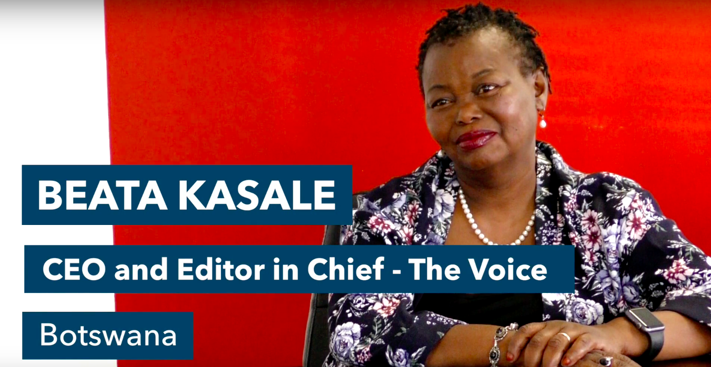 Women in News mourns the loss of Beata Kasale