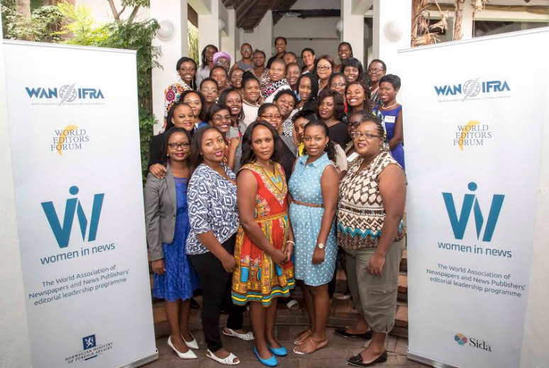 250 women journalists apply to join the WIN Accelerator programme in Africa!