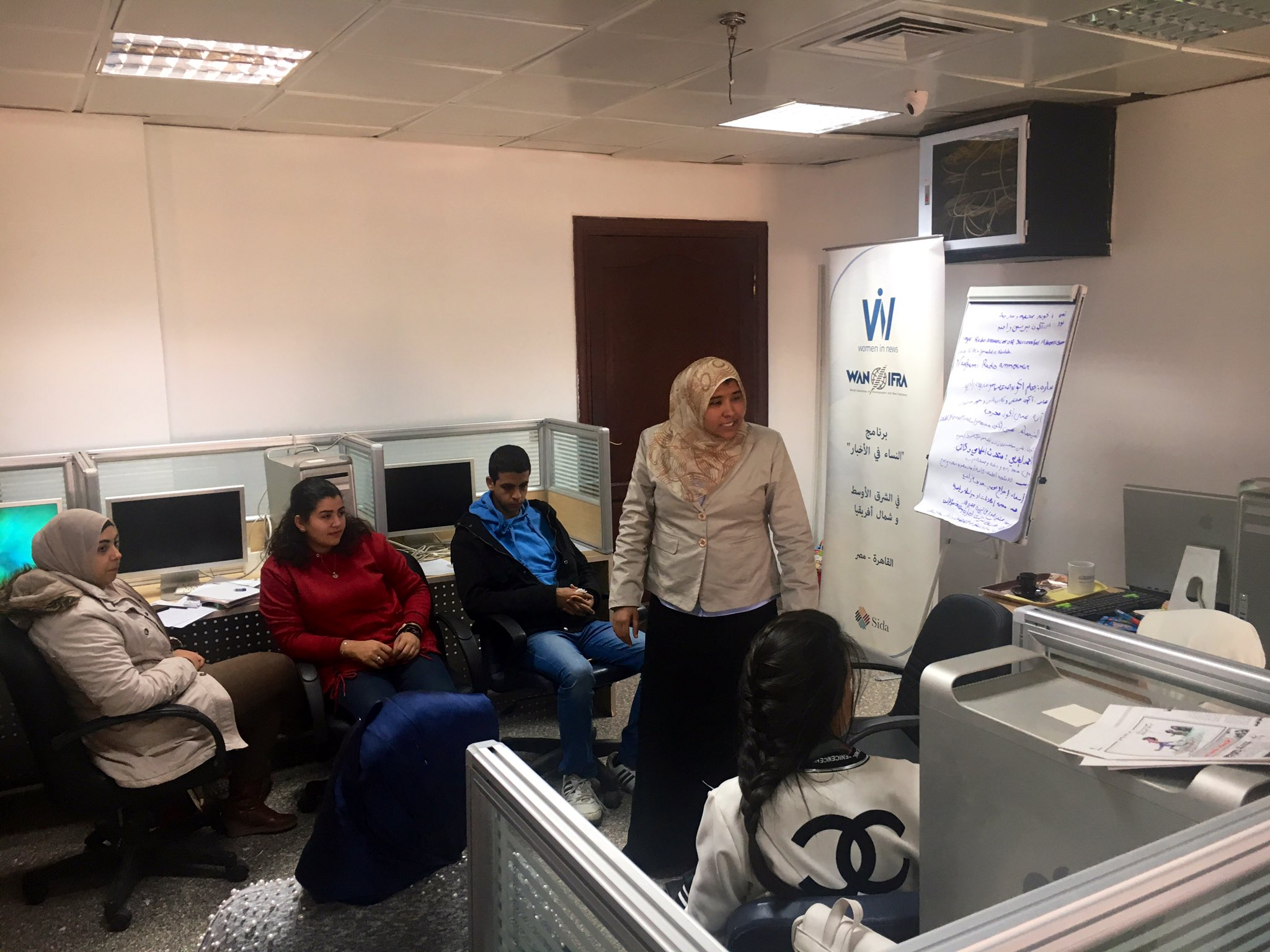 Change Stories: WIN participant takes on new responsibilities at Al Watan newspaper in Egypt