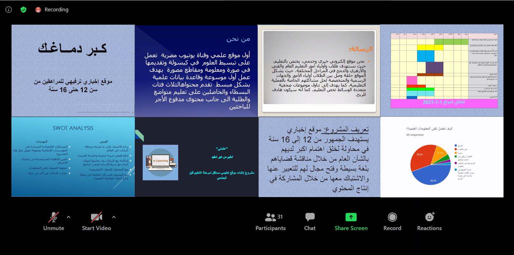 27 صحافية من مصر يكملنَ التدريب على إدارة وسائل الإعلام للنساء في الأخبار