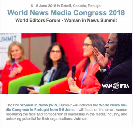 The 2nd Women In News Summit