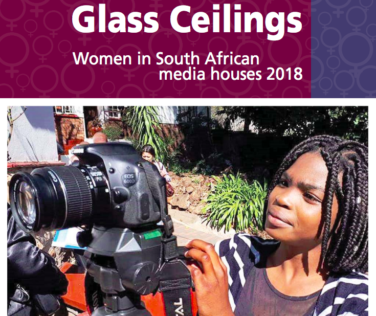 Glass Ceilings: Women in SA media houses in 2018