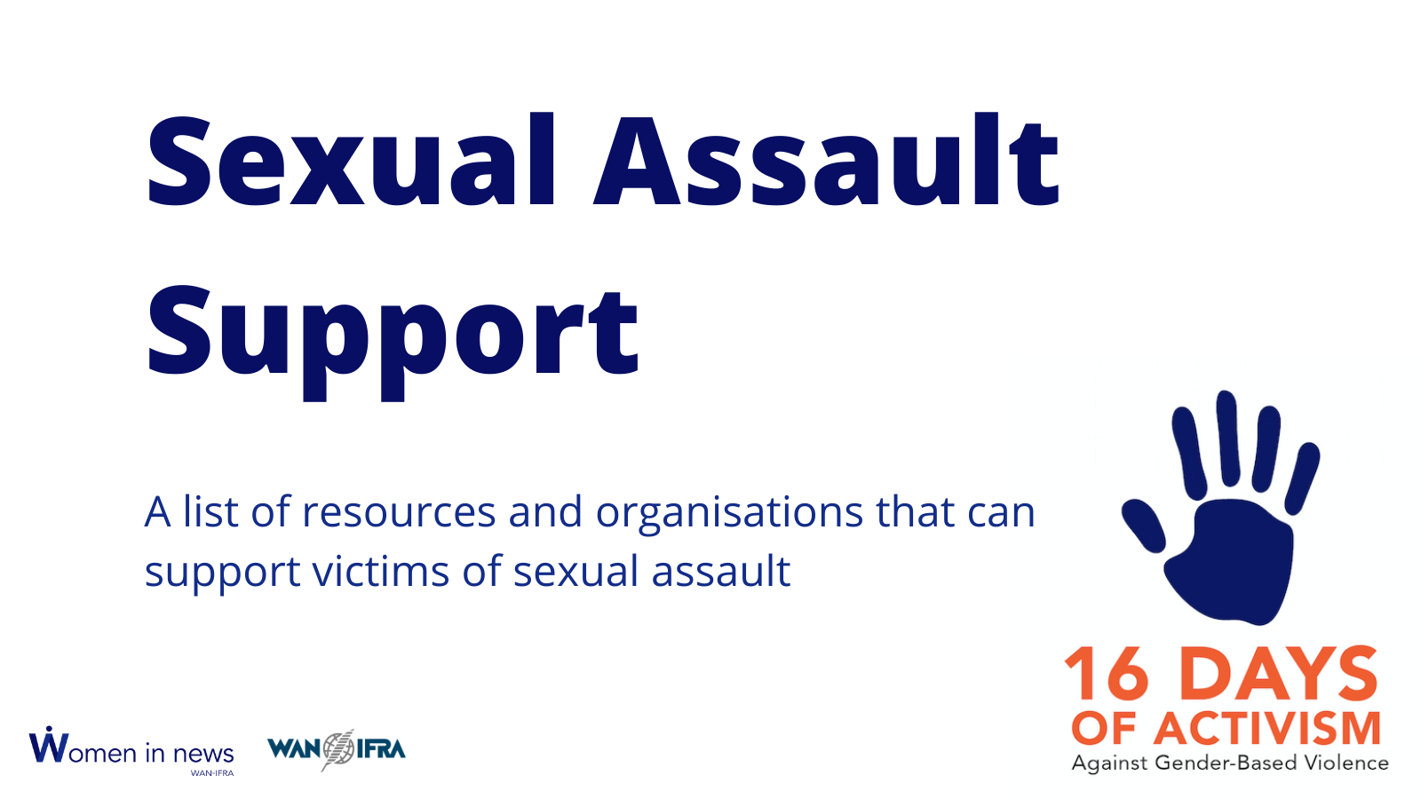 Sexual Assault Support